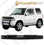 Дефлектор капота Mitsubishi Pajero Mini H53 1998–2012 (Мухобойка)