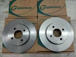 Комплект тормозных дисков Gbrake GR20526 Замена Бесплатно! GR20526