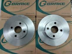 Комплект тормозных дисков G-brake GR02860 Замена Бесплатно! GR02860