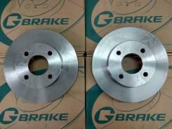 Комплект тормозных дисков G-brake GR-20399 Замена Бесплатно! GR20399