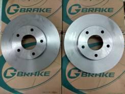 Комплект тормозных дисков G-brake GR-21906 замена бесплатно! GR-21906