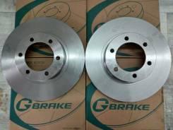 Комплект тормозных дисков G-brake GR-02916 Замена Бесплатно! GR-02916