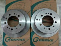 Комплект тормозных дисков G-brake GR02452 Замена Бесплато! GR02452