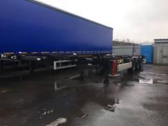 Orthaus. CGS010 контейнеровоз 45 футов раздвижной ССУ 1100 мм, 33 700кг.