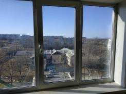 Гостинка, улица Кирова 150. Бабушкина, агентство, 34,0кв.м. Вид из окна днем