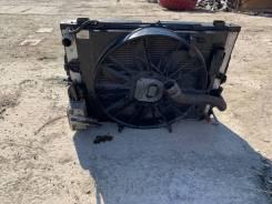 Радиатор охлаждения двигателя. BMW 5-Series, E60, E61 M54B25, N52B25OL, N52B25UL, N53B25UL, N54B25, N54B25OL