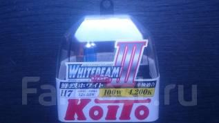 Koito Лампа H7 12V 55W (100W) 4200K Whitebeam III Набор из 2 шт