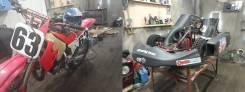 Honda CR 125. 125куб. см., исправен, без птс, с пробегом