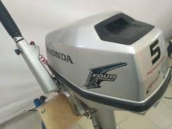 Honda. 5,00л.с., 4-тактный, бензиновый, нога S (381 мм), 2015 год