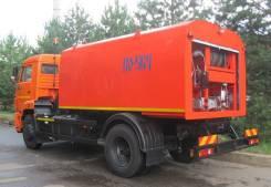 КамАЗ 43253. Каналопромывочная машина КО-564-20 шасси Камаз-43253, 6 700куб. см.