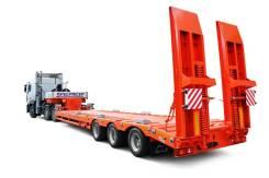 Спецприцеп 9942L3. Полуприцеп 9942L3 тяжеловоз, трал 40 тонн низкорамный, 42 000кг.