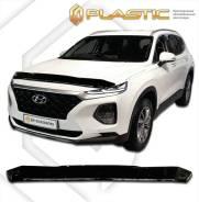 Дефлектор капота. Hyundai Santa Fe, TM Двигатели: D4HA, D4HB, G4KE, G4KH