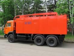 КамАЗ 65115. Комбинированная каналоочистительная машина КО-564 на шасси Камаз 65115, 11 762куб. см.