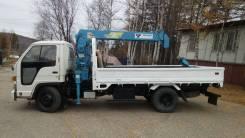 Isuzu Elf. Продам грузовик манипулятор. Isuzu ELF, 4 300куб. см., 2 000кг., 4x2