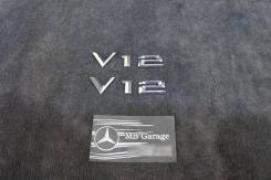 Эмблема крыла комплект BMW E65 E66 (MB Garage). BMW 7-Series, E65, E66, E67