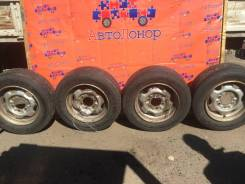 """Колеса-диски N Atlas с резиной Dunlop. 6.0x15.5"""" 6x139.70"""