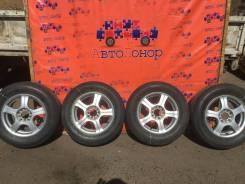 Колеса-диски Toyota с резиной Bridgestone