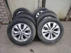 "Комплект колес Honda CRV RM 225/65 R17 Bridgestone Dueler H/P. 6.5x17"" 5x114.30 ET50"