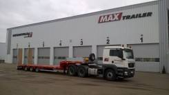 Faymonville. Продам MaxTrailer низкорамник тяжеловоз трал 3 оси Новый, 38 800кг.