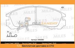 Колодки тормозные MITSUBISHI OUTLANDER 03PAJERO 900000 передние (Новая смесь) E400063 MILES / E400063