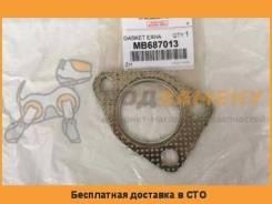 Прокладка выхлопной трубы (на 3 болта) MITSUBISHI / MB687013