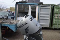 Honda. 25,00л.с., 4-тактный, бензиновый, нога S (381 мм), 2002 год