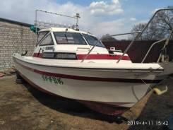 Yamaha Fish 22. длина 6,60м., двигатель подвесной