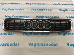 Решетка радиатора. Audi A4, B5 Audi S4 1Z, 7A, AAH, AAT, ABB, ABC, ABP, ACK, ACZ, ADP, ADR, AEB, AFB, AFC, AFF, AFN, AFY, AGA, AGB, AGE, AHA, AHC, AHH...