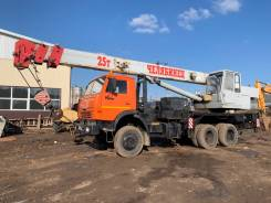 Челябинец КС-45721-25. Автокран 25 тонн, 11 000куб. см., 22,00м.