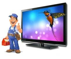 Срочный Ремонт Телевизоров ЖК LED LCD Плазма Выезд мастера. Гарантия.