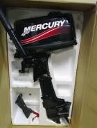 Mercury. 5,00л.с., 2-тактный, бензиновый, нога S (381 мм), 2013 год