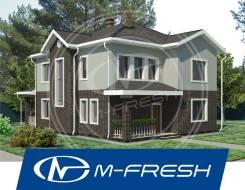 M-fresh Fantastic! (Вот какой! Готовый проект фантастического дома! ). 200-300 кв. м., 2 этажа, 5 комнат, бетон