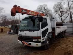 Mitsubishi Fuso Fighter. Продам грузовик с манипуляторам MMC Fuso Figter, 7 500куб. см., 6 000кг., 4x2