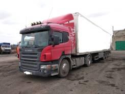 Scania P340LA. Сцепка тягач+полуприцеп Scania, 20 000кг., 4x2