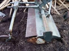 Плуг и фреза на мини трактор