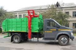 Рарз МК-1451-13. Мусоровоз с боковой загрузкой МК-1451-13 на шасси ГАЗ-C41R13, 4 750куб. см.