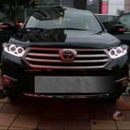 Фары (Тюнинг Комплект Lexus) Toyota Highlander (XU40) 2010-2013 год.