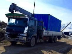 Грузоперевозки. Бортовой грузовик 15 тонн с манипулятором 5тонн.