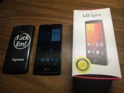 LG Spirit H422. Б/у, до 8 Гб, 3G, Dual-SIM
