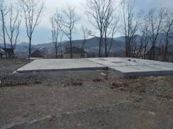 Продам земельный участок с фундаментом в черте города. 1 436кв.м., аренда. Фото участка