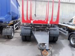 Дизель-ТС. Прицеп-сортиментовоз одвеска рессорно-балансирная, коники 4шт., 18 500кг.