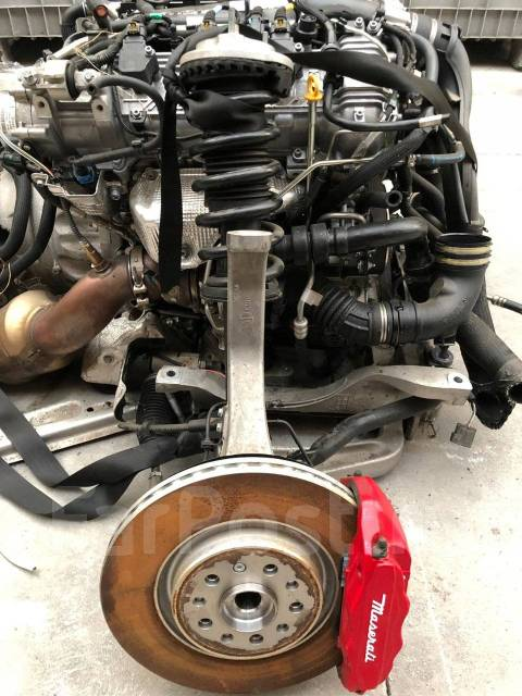 Двигатель M156D Maserati Quattroporte 3.0 битурбо