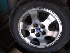 """Летние колеса 215/60/16 Bridgestone+Toyota. 6.5x16"""" 5x114.30 ET45 ЦО 60,1мм."""