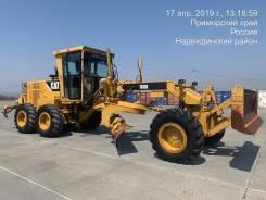 Caterpillar 160K. Автогрейдер Caterpillar 160К, 7 200куб. см.