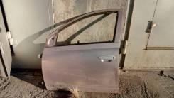 Дверь боковая левая передняя toyota Vitz SCP10, стекло