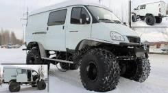 ГАЗ Соболь. Продам вездеход на базе Соболя, 2 700куб. см., 1 000кг., 3 500кг.
