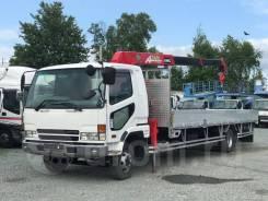 Mitsubishi Fuso. Бортовой с манипулятором 5 тонн, 8 200куб. см., 4x2