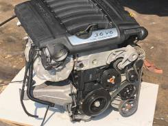Двигатель в сборе. Porsche Cayenne Двигатель M5501