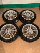 """Продам комплект колес на 16 с летней резиной. 6.5x16"""" 4x100.00 ET45 ЦО 73,0мм."""