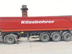 Kassbohrer. Самосвальный полуприцеп 32 м3, 40 000кг.